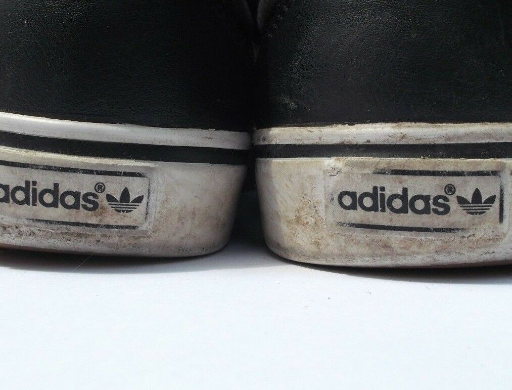 Adidas Trainers and Black and Trainers White UK Size 7 Male e68491