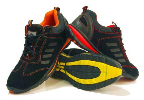 Portwest Steelite lusum sneakers da 1P HRO Punta Acciaio Intersuola calzature FW34