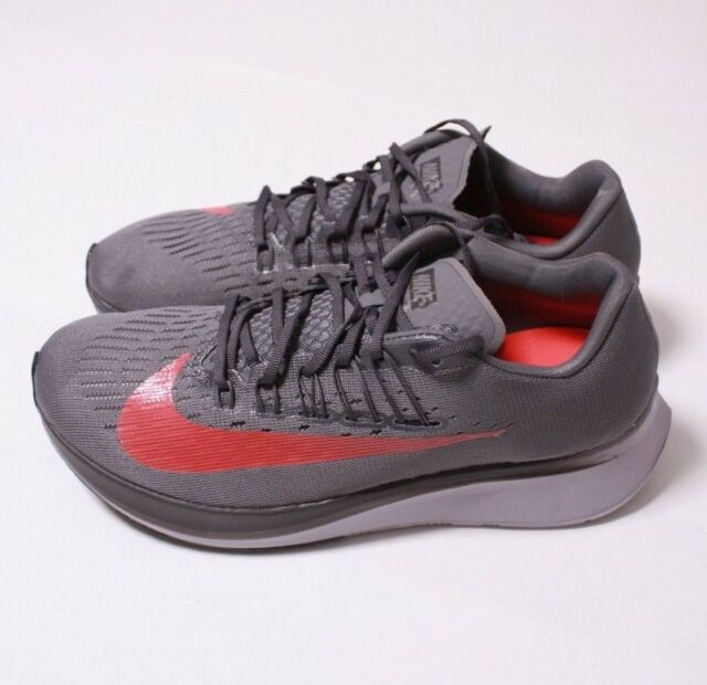1aade8828eb20 Men Nike Zoom Fly Mens Running Shoes Gunsmoke Bright Crimson 880848 ...