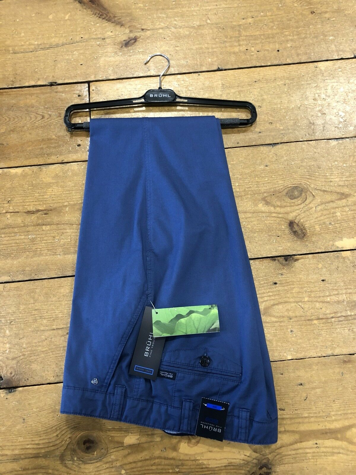 BRUHL® VENICE B Cotton Summer Stretch Trousers Cobalt bluee - 46 30 SALE SS18