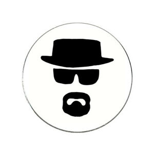 Details About Breaking Bad Heisenberg Golf Ball Marker Novelty