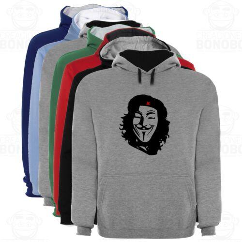 Sudadera Capucha Bicolor Che Vendetta varias tallas y colores