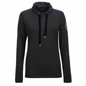 Golfino-Ladies-Long-Sleeve-Top-with-Shawl-Collar-in-Black-37-OFF-RRP