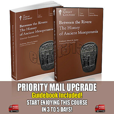 Between the Rivers Mesopotamia DVD New Sealed Great Courses Teaching Co
