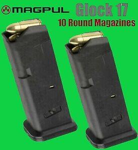 *5 pack* Magpul Glock 17 9mm 10 Round Magazine 10rd Mag