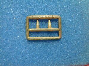 Civil-War-Gold-Gilded-Dated-Brass-Suspender-Buckle-dug-in-Savannah-Georgia