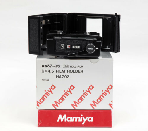 FILM BACK Mamiya RB PRO-SD 120 6x4.5 FILM HOLDER NO DARK SLIDE, NO MASK