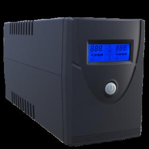 UPS GRUPPO DI CONTINUITA' STABILIZZATORE 600 VA 360w 2 uscite DISPLAY LCD PC DVR