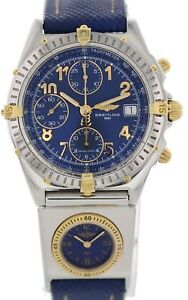 Details About Breitling Chronomat Utc B13050 1 With Papers