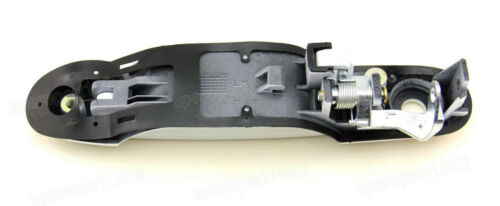 Exterior Outer White Front Left Drive Side Door Handle For Toyota Sienna 98-03