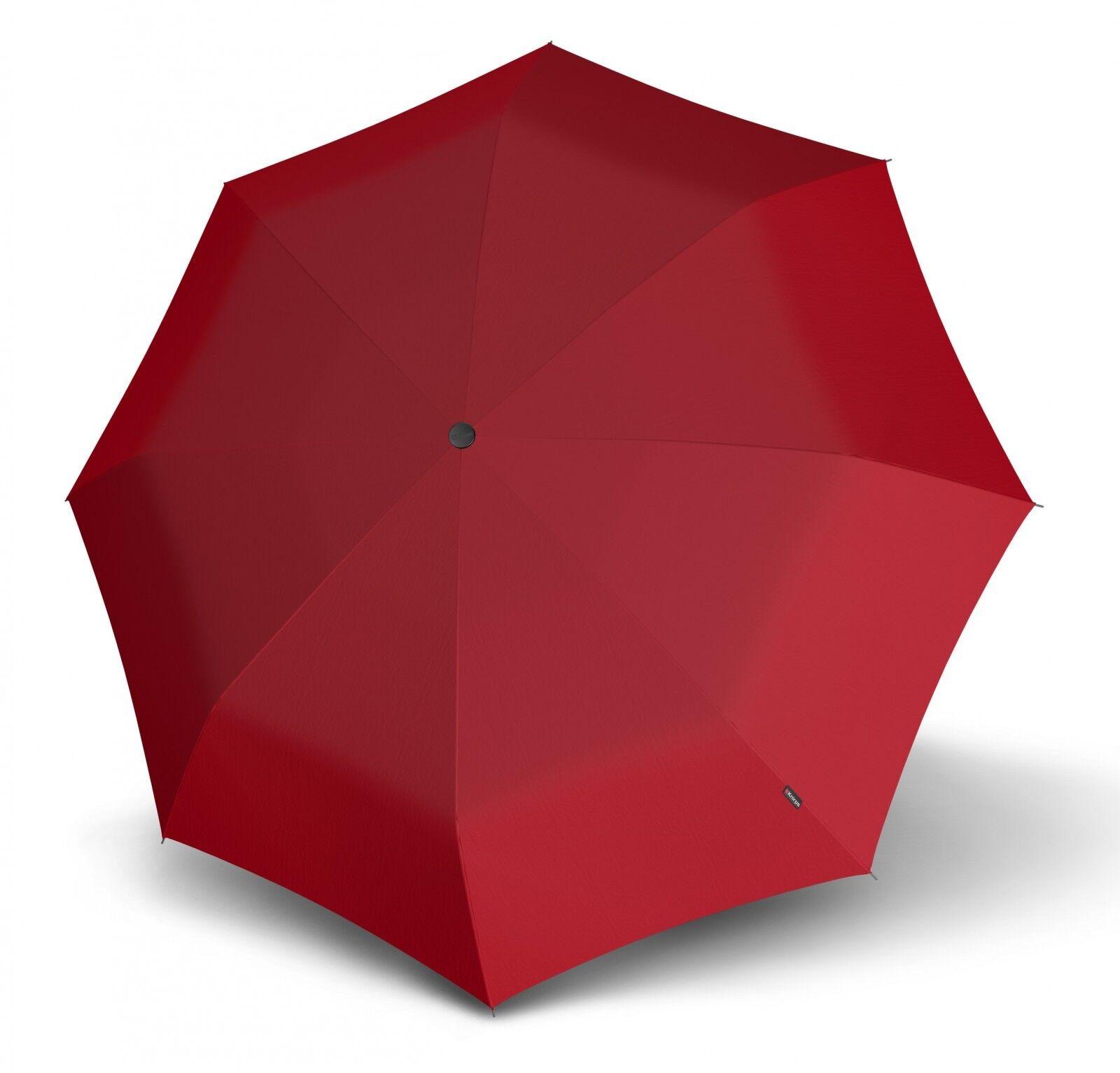 Knirps T.200 Medium Duomatic Regenschirm Taschenschirm Schirm Blau Navy Unisex