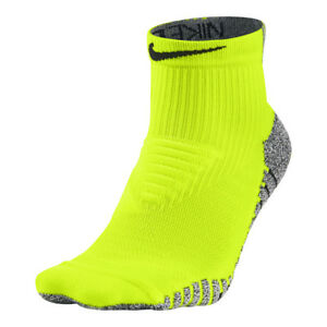 NikeGrip-Lightweight-Crew-Training-Socks-Volt-Black-size-XL-TG-46-50-EUR