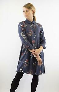 NEW-Fat-Face-Gorgeous-Navy-Floral-Button-Through-Collared-Shirt-Dress-RRP-49-95