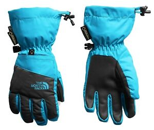 The-North-Face-Youth-Montana-Etip-Gore-Tex-Gloves-Ski-Snow-Waterproof-Blue