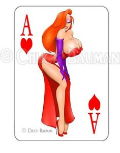 JESSICA-RABBIT-TEMPTRESS-sexy-playing-card-decal-sexy-pin-up-babe-sticker