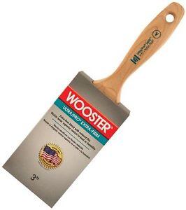 2019 Nouveau Style Wooster Brush 4157-3 Ultra/pro Extra-firm Sable Paintbrush, 3-inch Diversifié Dans L'Emballage