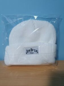 Mens Jim Beam Cable Knit Beanie One Size ~ NEW ~ Double Layer ~ MBC