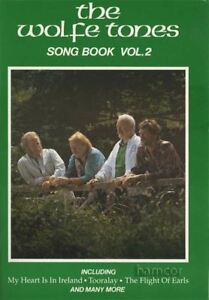 FidèLe The Wolfe Tones Song Book Volume 2 Piano Vocal Guitare Partitions Livre Irlandaise-afficher Le Titre D'origine Prix ​​De Vente Directe D'Usine