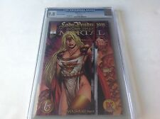 LADY PENDRAGON MORE THAN MORTAL 1 CGC 9.8 DYNAMIC FORCES VARIANT NOT CBCS PGX