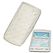 Silikon TPU Handy Cover Case Hülle Schutz Foggy für Samsung Samsung S8530 Wave 2