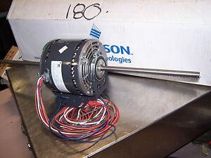 New emerson 1 5 hp ac electric hvac fan motor 48y frame 3 for 300 hp ac electric motor
