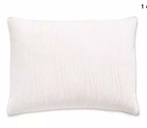 Croscill Heatherly 1 King Pillow Sham - Ivory