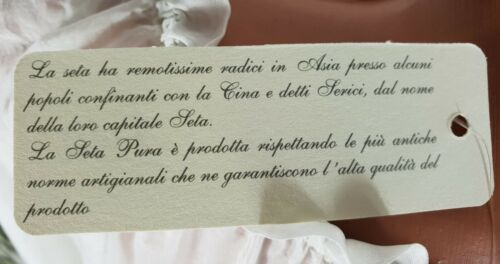 "NEU /""PURA SETA/"" ITALY ZARTE 100/% SEIDE TUNIKA KLEID VOLANTKRAGEN BEIGE 36-42"