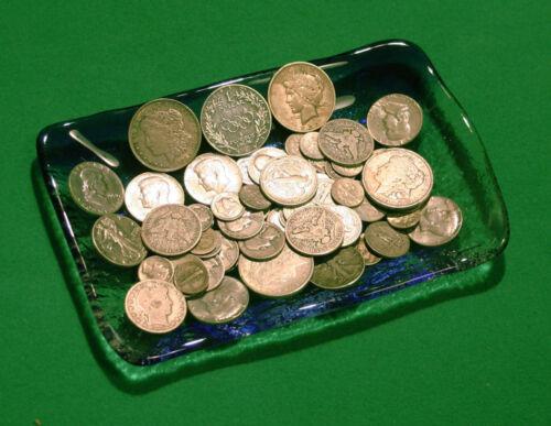 Morgan Silver dollar 4 Ounces 90/% Silver Coin Lot w// Halves Quarters Dimes