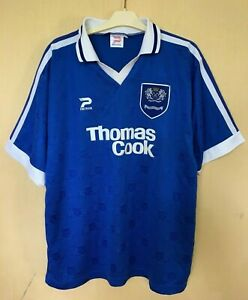 FC-PETERBOROUGH-UNITED-1997-1998-HOME-FOOTBALL-JERSEY-SOCCER-SHIRT-VINTAGE