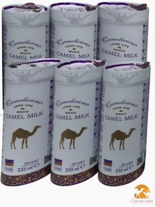 Lot-de-6-canettes-de-LAIT-DE-CHAMELLE-LIQUIDE-235-ml-UHT-CAMEL-MILK