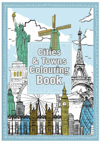 ADULT COLOURING BOOKS - Art Colour Therapy Stress Relief Calm Relaxation