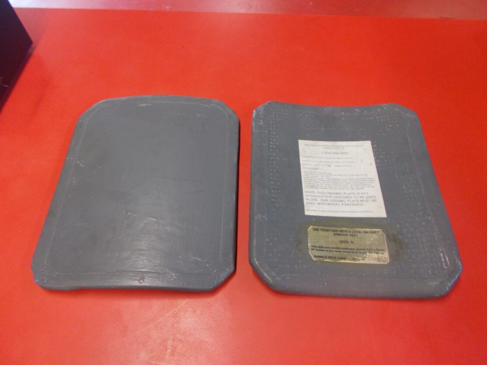 Ballistic Sapi Ceramic Large Predection Plate Curved