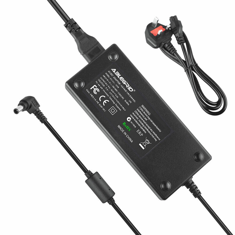 120W 19.5V AC Adapter Charger Power Supply For Sony VAIO VGP-AC19V53 VGP-AC19V46