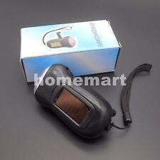 Hand Crank Flashlight Rechargeable 3-LED Torch Dynamo Solar powered lamp Black