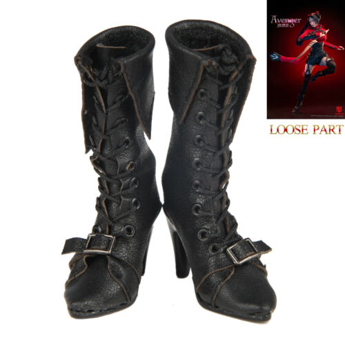 """STAR MAN MS-005 1//6 Scale Female Avenger 12/"""" Collectible Figure Leather Boots"""