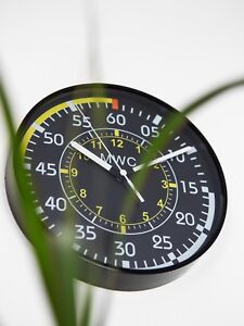 MWC-Airspeed-Indication-Wall-Clock-9-034-22-5cm-Silent-Sweep-Movement
