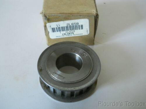 "Taper Bore for Bushing New Browning Timing Pulley L075 Belt 19LG075 3//4/"" W"