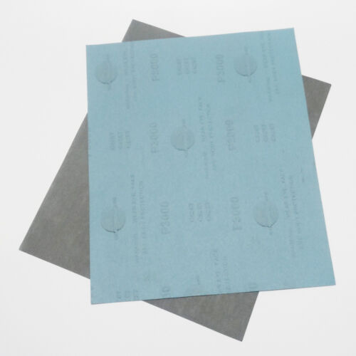 Wet and Dry Sandpaper Abrasive Waterproof Paper Sheets 800-4000 grit