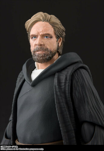 STAR WARS: The Last Jedi S.H.Figuarts Luke Skywalker Battle of Crait Ver.
