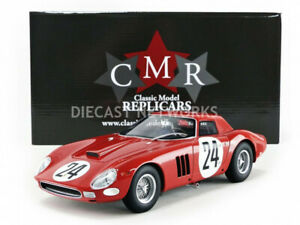 Cm Ferrari 250 Gto 24h Le Mans 1964 Bianchi / Blaton # 24 1/18 Echelle