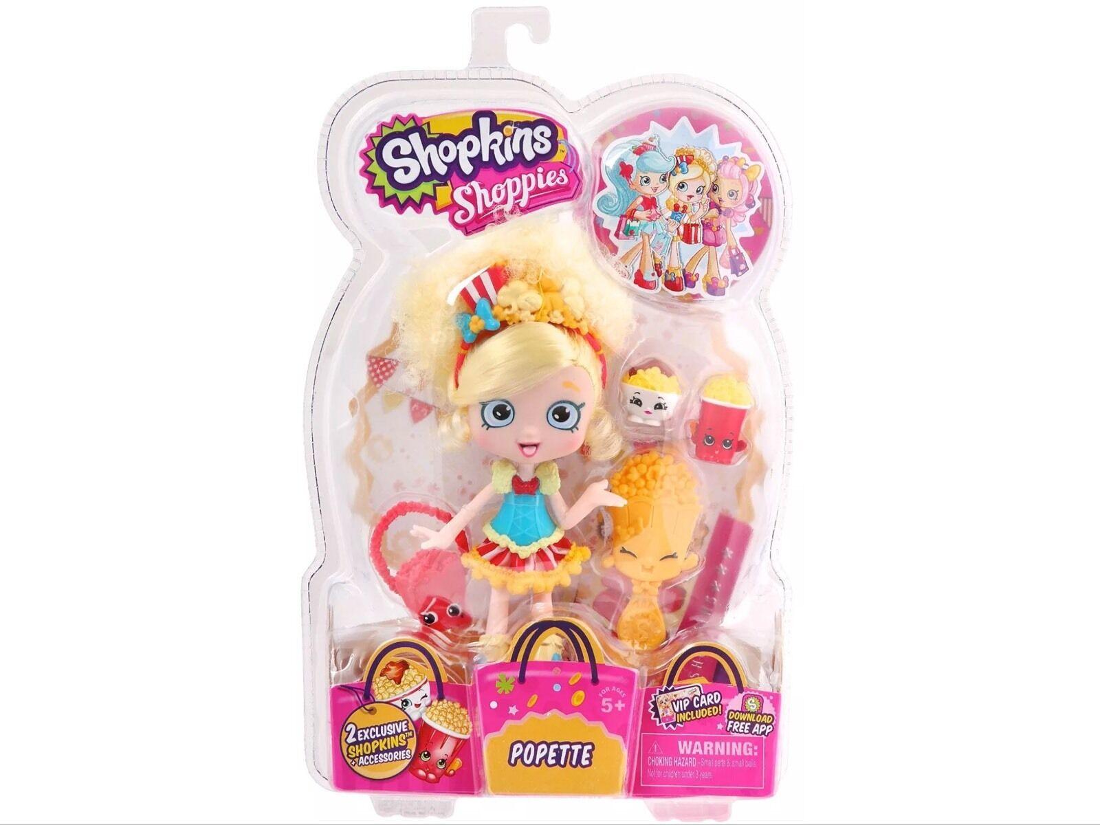 NEW Shopkins Shoppies Doll Popette Season 1