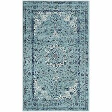 Safavieh Evoke Vintage Oriental Light and Dark Blue Distressed Rug (3' x 5')