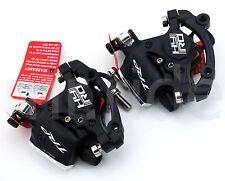 TRP HY/RD Hydraulic Disc Brake set Front + Rear Black w/ Adapter W/O rotors