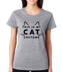 Image Is Loading This Is My Cat Costume Cute Funny Halloween