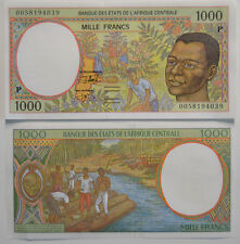 CENTRAL AFRICAN STATES (CONGO) 1000 (P) Francs 2000 UNC (B12)