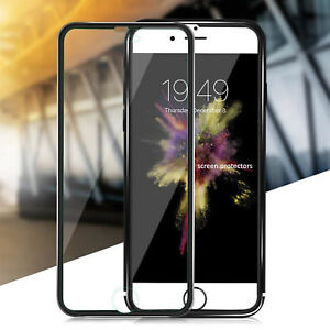 Screen-Protector-For-Apple-iPhone-8-Tempered-Glass-100-Genuine-Metal-New