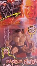 WWF THE ROCK MAXIMUM SWEAT ACTION FIGURE( 019)