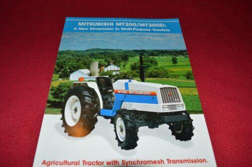 Mitsubishi MT300 MT300D Tractor Dealers Brochure  LCOH