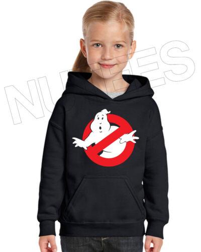 Ghost Busters Movie Inspired Kids Unisex Hooded Sweatshirt Hoodie 5-6 to 12-13