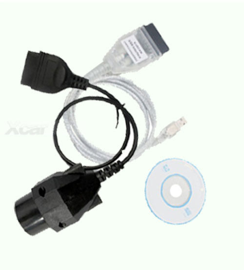 INPA / Ediabas K+USB Interface DCAN D-CAN OBD2 with 20 PIN to OBD2 16pin for BMW